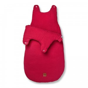 Hi Little One - śpiworek NEWBORN STRAWBERRY TOG 3,5 wiek 0 m+