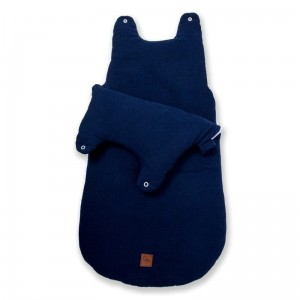 Hi Little One - śpiworek NEWBORN NAVY TOG 3,5 wiek 0 m+