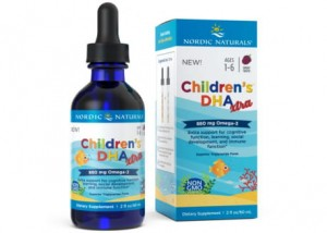 Nordic Naturals Childrens DHA Xtra 880 mg (60 ml) - Jagodowy