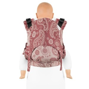 Nosidełko Fidella - Fusion - Persian Paisley Ruby Red - Toddler