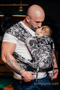 Nosidełko LennyLamb - Wrap - Tai Toddler - Mechanizm