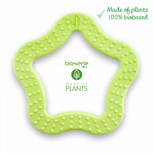 Gryzak - Teether Star - BioSerie - Lime