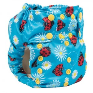 Pielucha Smart Bottoms - AIO 2.0 - Little Lady Bugs - OS